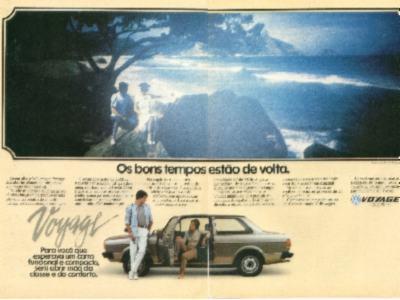 1981 - Lançamento do Voyage