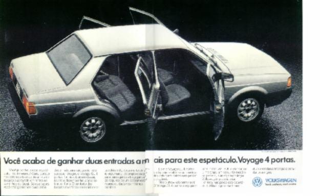 1990 - A Volta do Voyage 4 portas