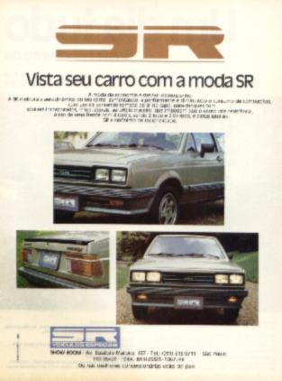 1982 - Voyage com kit SR (não original VW)