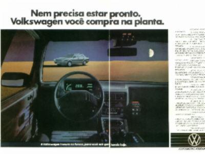 1984 - Institucional VW com o Voyage Techno