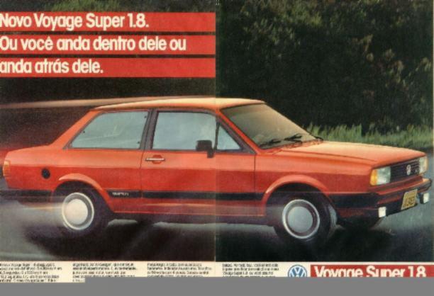 1986 - Voyage 1.8 GLS - Super