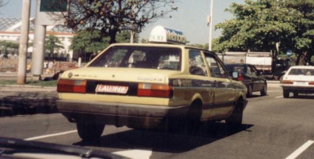 Taxi no Rio de Janeiro