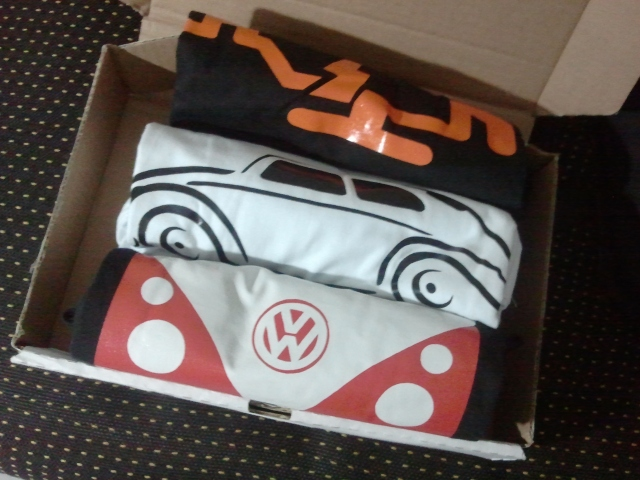 Camisetas Garagem 150