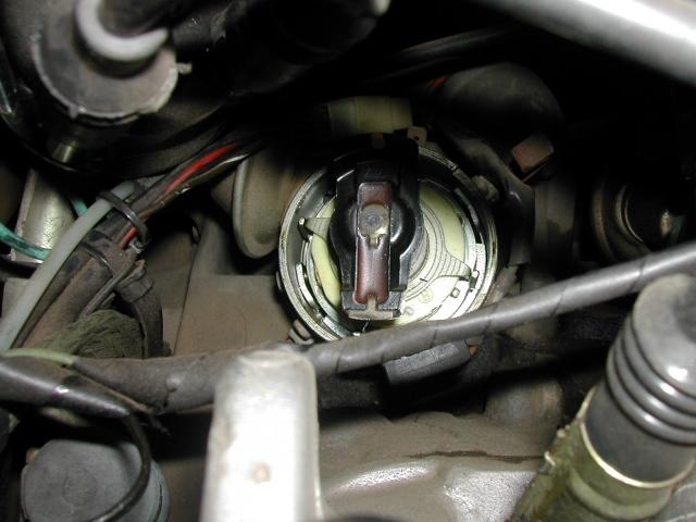 rotor posicionado no cilindro 1