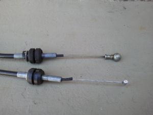O cabo do BLFA a ponta de conexão é redondo.