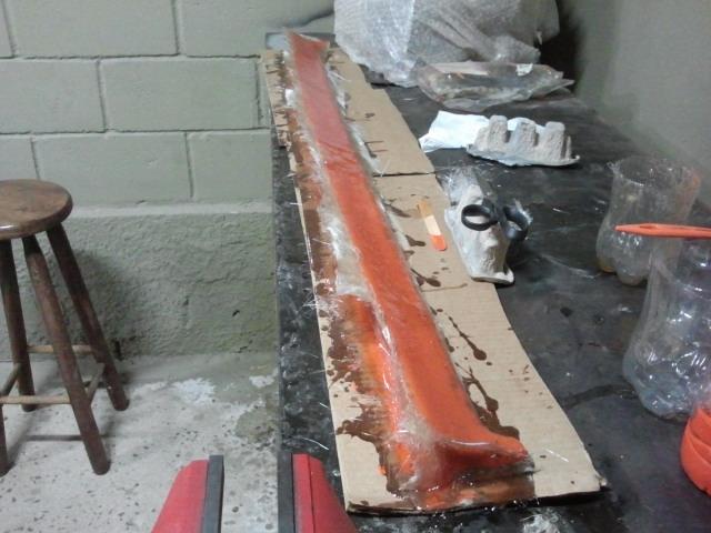 Molde em fibra de vidro
