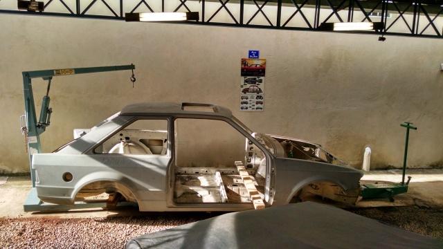 Monobloco 0km de Escort XR3 de um amigo que ficou guardado na garagem 150.