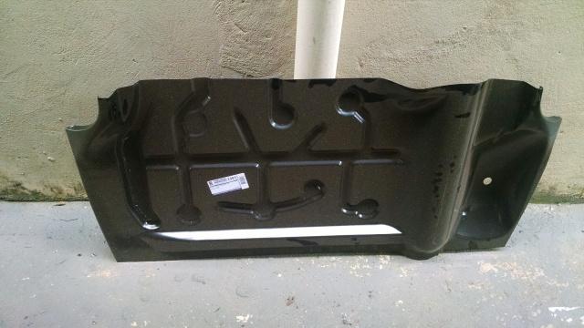 Assoalho do chevette Sedan que adaptei na Chevy (idéia do Alex Moreira)